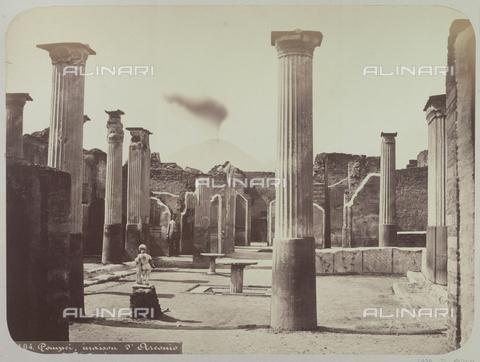 AVQ-A-004117-0042 - La casa di Marco Olconio a Pompei - Data dello scatto: 1865 ca. - Raccolte Museali Fratelli Alinari (RMFA), Firenze