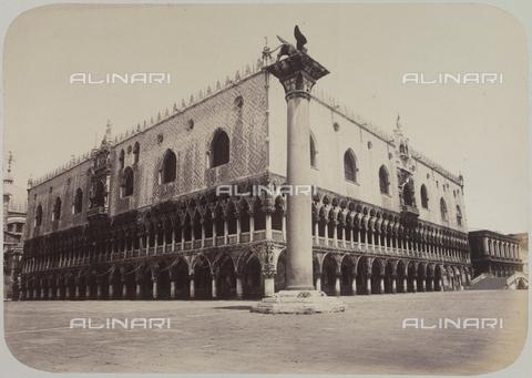 AVQ-A-004117-0058 - View of the Palazzo Ducale in Venice - Data dello scatto: 1865 ca. - Archivi Alinari, Firenze