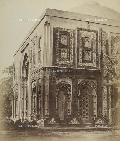 AVQ-A-004119-0003 - Particolare di un tempio a Delhi in India - Data dello scatto: 1858 - Archivi Alinari, Firenze