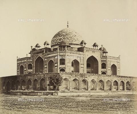 AVQ-A-004119-0016 - Il mausoleo di Humayun a Delhi, India, esempio di architettura Moghul - Data dello scatto: 1858 - Archivi Alinari, Firenze