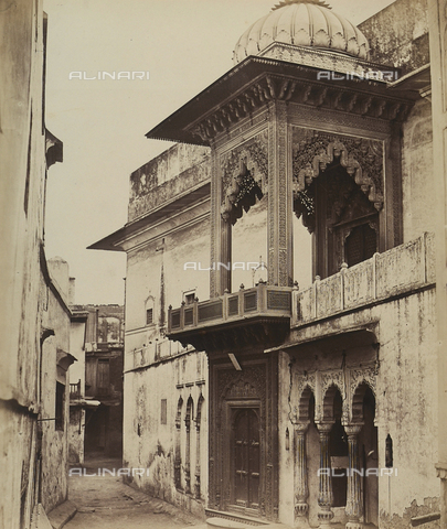 AVQ-A-004119-0018 - Un tempio a Delhi in India - Data dello scatto: 1858 - Archivi Alinari, Firenze