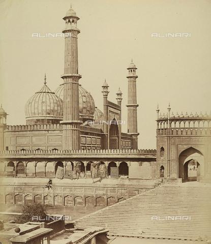 AVQ-A-004119-0021 - La Moti Masjid, o Moschea della Perla, a Delhi - Data dello scatto: 1858 - Archivi Alinari, Firenze