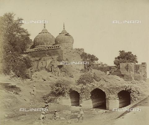 AVQ-A-004119-0039 - Un tempio di Delhi, India - Data dello scatto: 1858 - Archivi Alinari, Firenze