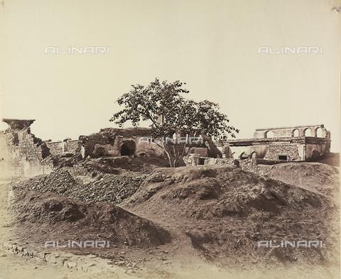 AVQ-A-004119-0044 - Paesaggio con rovine a Delhi, India - Data dello scatto: 1858 - Archivi Alinari, Firenze