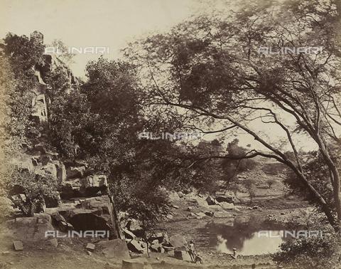 AVQ-A-004119-0047 - Paesaggio nei pressi di Delhi, India - Data dello scatto: 1858 - Archivi Alinari, Firenze