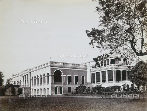 AVQ-A-004120-0020 - Palazzo dei Governatori a Calcutta - Data dello scatto: 1880-1890 ca. - Archivi Alinari, Firenze