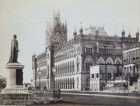 AVQ-A-004120-0022 - Il Palazzo della Corte Suprema a Calcutta - Data dello scatto: 1880-1890 ca. - Archivi Alinari, Firenze