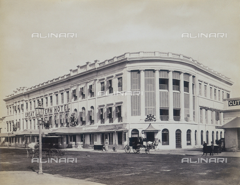 AVQ-A-004120-0023 - Il Great Eastern Hotel a Calcutta - Data dello scatto: 1880-1890 ca. - Archivi Alinari, Firenze