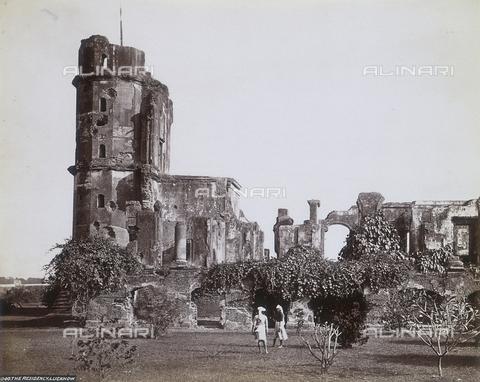 AVQ-A-004120-0048 - Le rovine della British Residency di Lucknow - Data dello scatto: 1880-1890 ca. - Archivi Alinari, Firenze