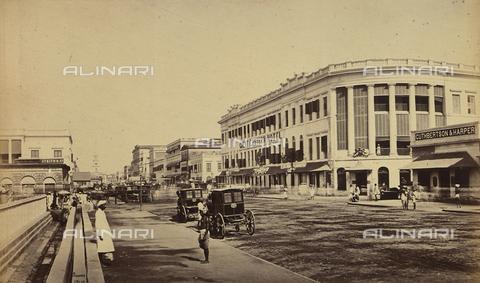 AVQ-A-004121-0003 - Il Great Eastern Hotel di Calcutta (Council House street), in India - Data dello scatto: 1863-1870 ca. - Raccolte Museali Fratelli Alinari (RMFA), Firenze