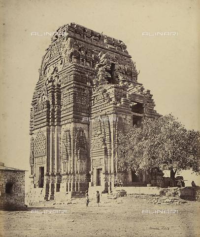 AVQ-A-004121-0036 - Grande tempio a Gwalior, in India - Data dello scatto: 1863-1870 ca. - Raccolte Museali Fratelli Alinari (RMFA), Firenze