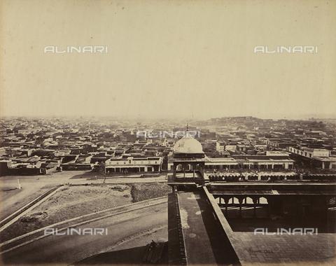 AVQ-A-004121-0037 - Scorcio della città di Delhi, in India - Data dello scatto: 1863-1870 ca. - Raccolte Museali Fratelli Alinari (RMFA), Firenze