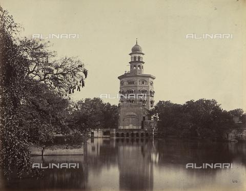 AVQ-A-004121-0053 - Baba Atal, torre di nove piani facente parte del complesso del Tempio d'Oro a Amritsar, in India - Data dello scatto: 1863-1870 ca. - Raccolte Museali Fratelli Alinari (RMFA), Firenze