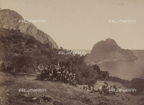 AVQ-A-004127-0048 - View of Cape Zafferano in Palermo, Sicily - Data dello scatto: 1875 ca. - Archivi Alinari, Firenze