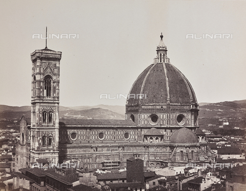 AVQ-A-004278-0028 - The Cathedral of Santa Maria del Fiore, Florence - Date of photography: 1870 ca. - Fratelli Alinari Museum Collections, Florence