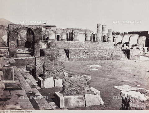 AVQ-A-004278-0046 - Temple of Jupiter, Pompeii - Data dello scatto: 1885 ca. - Archivi Alinari, Firenze