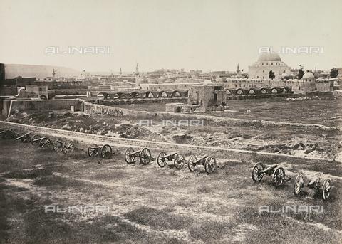 """AVQ-A-004409-0001 - Palestina. """"S. Giovanni d'Acri"""" - Data dello scatto: 1868 - Archivi Alinari, Firenze"""
