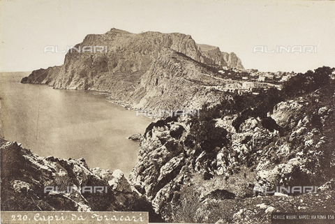 "AVQ-A-004792-0052 - Album ""Roma"": View of Capri and of its coast - Date of photography: 12/1880 - Fratelli Alinari Museum Collections, Florence"
