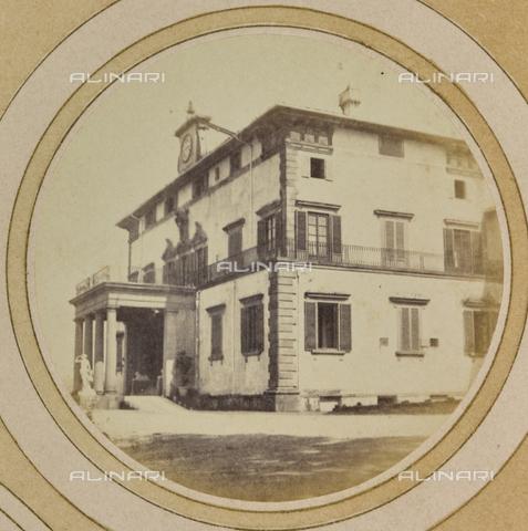 AVQ-A-004912-0008 - Villa Vrindavana, formerly Villa Fenzi, Sant 'Andrea in Percussina, San Casciano val di Pesa - Date of photography: 1890-1900 - Fratelli Alinari Museum Collections, Florence