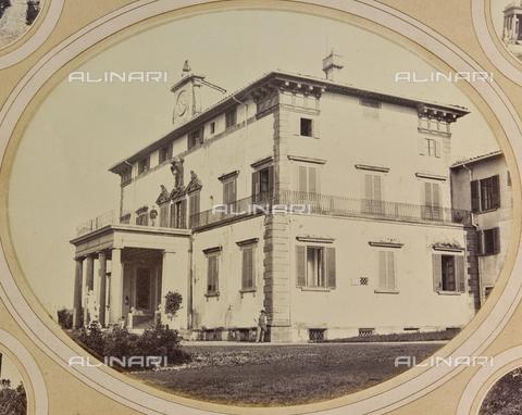 AVQ-A-004912-0009 - Villa Vrindavana, formerly Villa Fenzi, Sant 'Andrea in Percussina, San Casciano val di Pesa - Date of photography: 1890-1900 - Fratelli Alinari Museum Collections, Florence