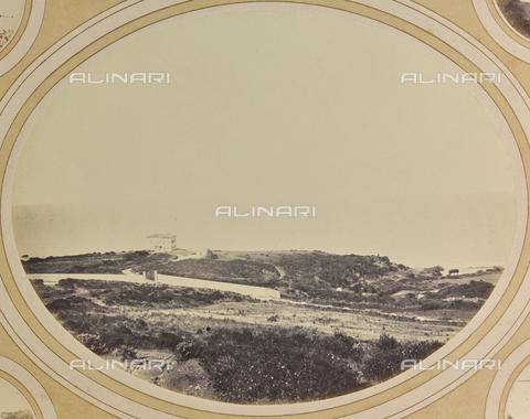AVQ-A-004912-0031 - Panorama of the coast with Villa Fenzi at Fortullino, Castiglioncello - Date of photography: 1890-1900 - Fratelli Alinari Museum Collections, Florence