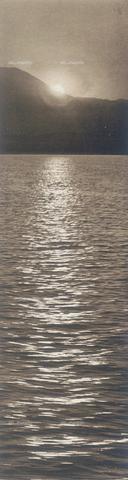 """BAF-A-004894-0134 - """"En Grèce par monts et par vaux"""": tramonto sul mare - Data dello scatto: 1903-1910 - Archivi Alinari, Firenze"""