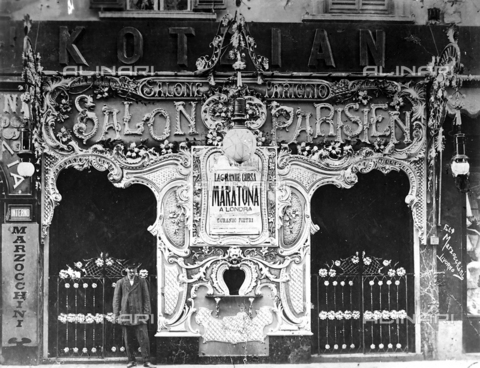 BBA-F-001997-0000 - The Salon Parisien in Livorno - Data dello scatto: 1910 ca. - Archivi Alinari, Firenze