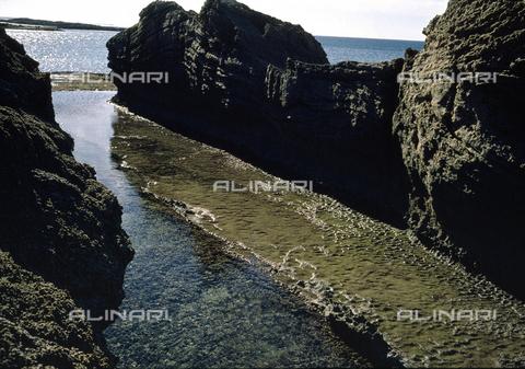 BEN-F-006245-0000 - Panoramica sulla costa, Dor (Dora), Mar di Cesarea, Tel Dor - Raffaello Bencini/Archivi Alinari, Firenze