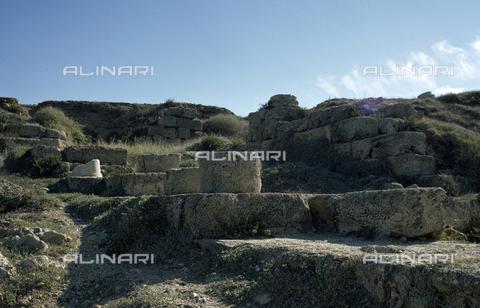 BEN-F-012437-0000 - Antichi ruderi, Dor (Dora), Mar di Cesarea, Tel Dor - Raffaello Bencini/Archivi Alinari, Firenze