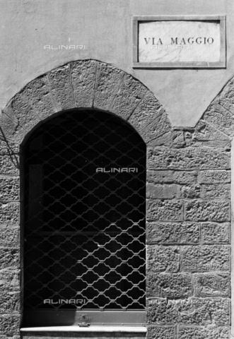 BEN-F-014704-0000 - Registration, Via Maggio, Florence - Raffaello Bencini/Alinari Archives, Florence