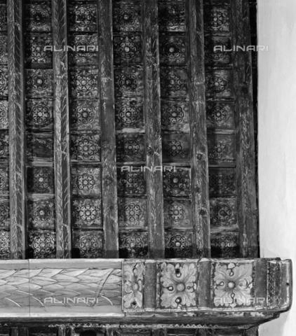 BEN-F-014735-0000 - Coffered ceiling, 1289, Arnolfo di Cambio, attributed, Lapo German, attributed, Palazzo Spini Ferroni, Florence - Raffaello Bencini/Alinari Archives, Florence