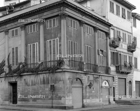 BEN-F-014744-0000 - Loggia or Terrazzino Reale, 1830, Luigi de Cambray Digny (Florence, 1778 - Florence, February 20, 1843), the Royal Lodge Hotel Executive, Florence - Raffaello Bencini/Alinari Archives, Florence