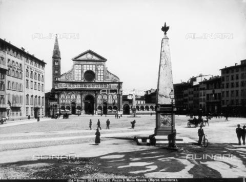 BGA-F-003027-0000 - Piazza Santa Maria Novella in Florence