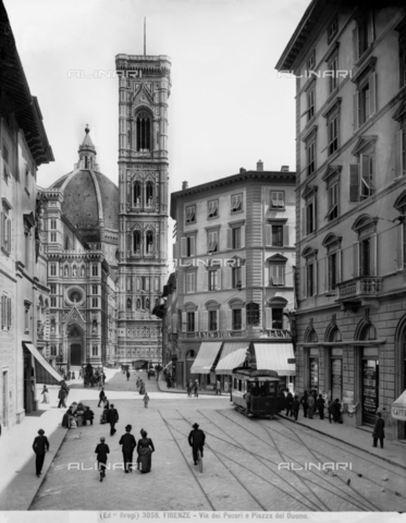 "BGA-F-003058-0000 - Bell tower of Cathedral of Santa Maria del Fiore, called ""Campanile di Giotto"", Florence"