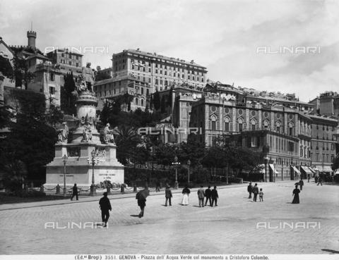 BGA-F-003551-0000 - Monument to Raffaele Rubattino, Piazza Caricamento, Genoa