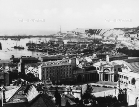 BGA-F-003553-0000 - Panorama of Genoa seen from the Naval Academy.