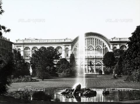 BGA-F-003702-0000 - Garden, Carlo Felice Square, Turin.