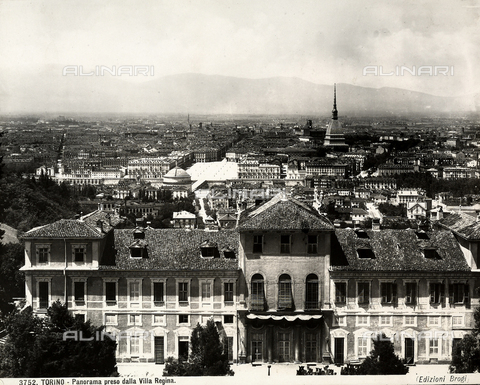 BGA-F-003752-0000 - View of Turin shot from the Villa Regina.