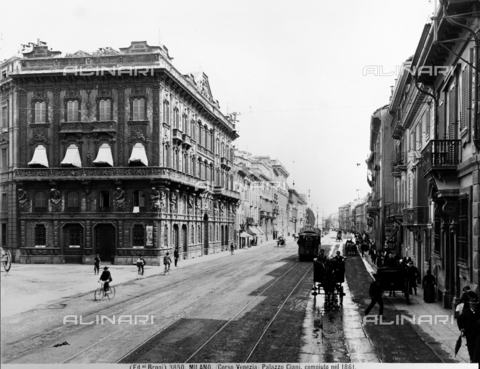 BGA-F-003850-0000 - View of Corso Venezia in Milan