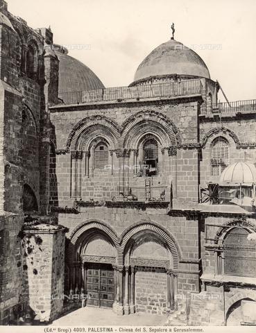 BGA-F-004009-0000 - La Chiesa del Santo Sepolcro a Gerusalemme - Data dello scatto: 1890 ca. - Archivi Alinari-archivio Brogi, Firenze