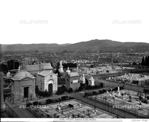 BGA-F-004986-0000 - The cemetery of San Miniato in Florence - Date of photography: 1890 ca. - Alinari Archives-Brogi Archive, Florence