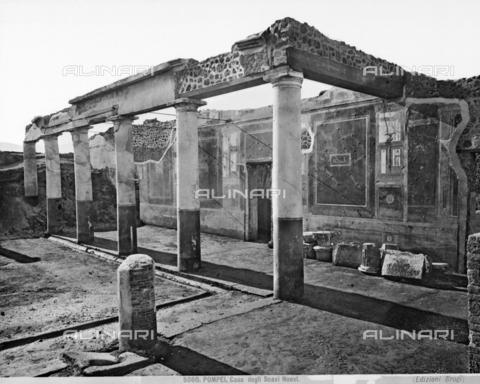 BGA-F-005080-0000 - Casa degli Scavi Nuovi, Pompeii - Date of photography: 1890 ca. - Alinari Archives-Brogi Archive, Florence