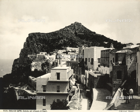 BGA-F-005534-0000 - View of the town of Capri