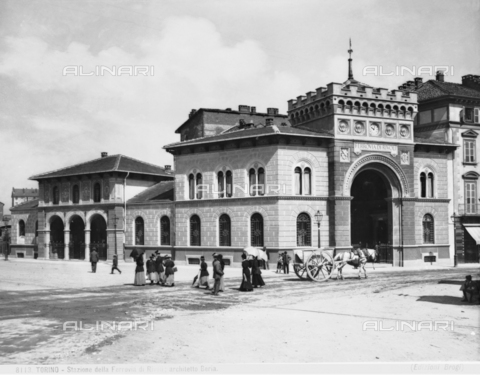 BGA-F-008113-0000 - The Rivoli train station in Turin.