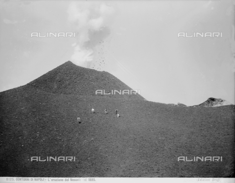 BGA-F-008125-0000 - Eruption of Mt. Vesuvius