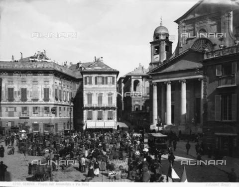 BGA-F-008760-0000 - Santissima Annunziata del Vastato Church, piazzetta Andorlini, Genoa