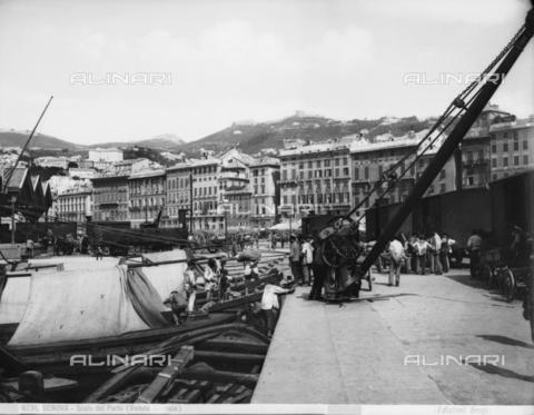 BGA-F-008791-0000 - Genoa's port