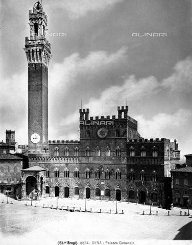 BGA-F-008854-0000 - Palazzo Pubblico (Council Hall), Piazza del Campo, Siena