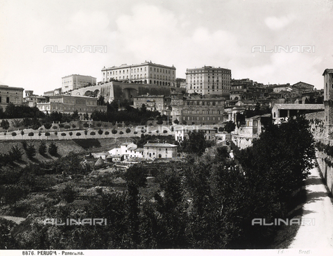BGA-F-008876-0000 - View of the city of Perugia