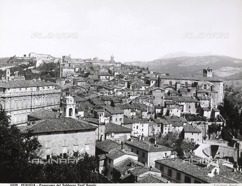 BGA-F-008877-0000 - View of the city of Perugia